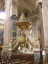St – Sulpice- церковь, где начинался отсчет.