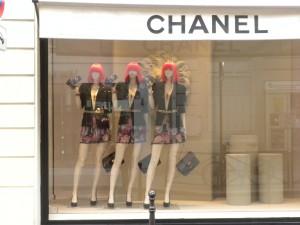 В Париже закончились распродажи, но…