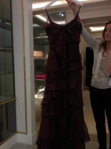 Витрины Парижа – платья