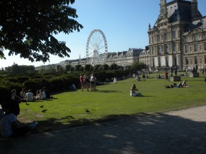 О весне в Париже