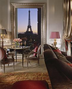 Самы 5-ти звездочный отель в Париже
